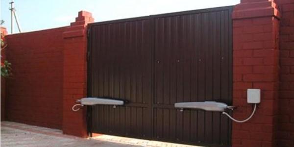 Распашные ворота. Купить распашные ворота, цена, стоимость.