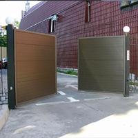Алюминиевые распашные ворота Alutech