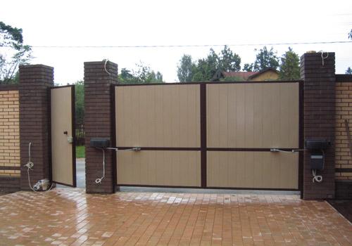 Изготовление ворот. Изготовление гаражных ворот, цена, стоимость.