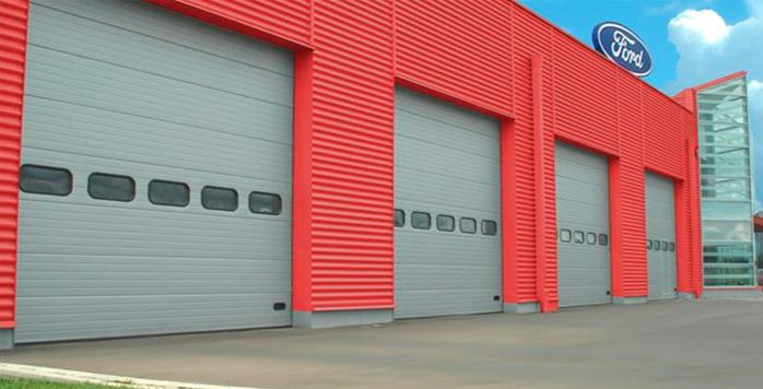 Прпомышленные гаражные ворота. Распашные, подьемные, скоростные.