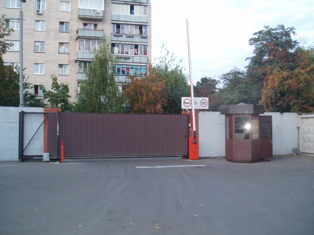 Откатные ворота проект 15