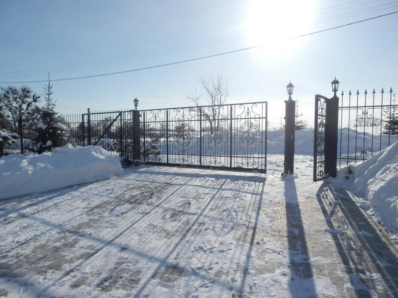 Откатные ворота проект 30