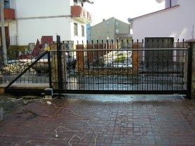 Откатные ворота проект 37