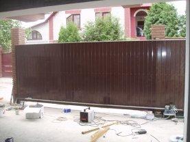 Откатные ворота проект 42