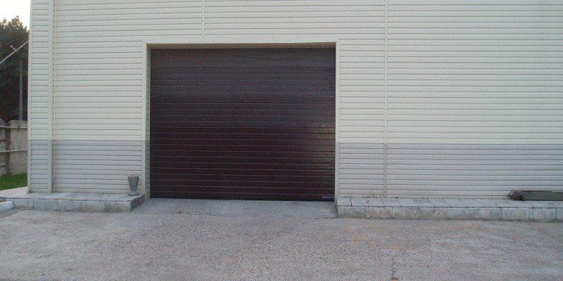 Гаражные ворота проект 31