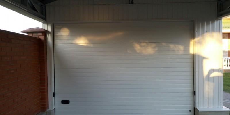 Изготовление и установка гаражных ворот RYTERNA пгт Пуховка