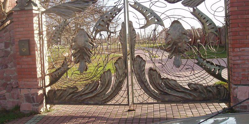 Кованые ворота Киев цена