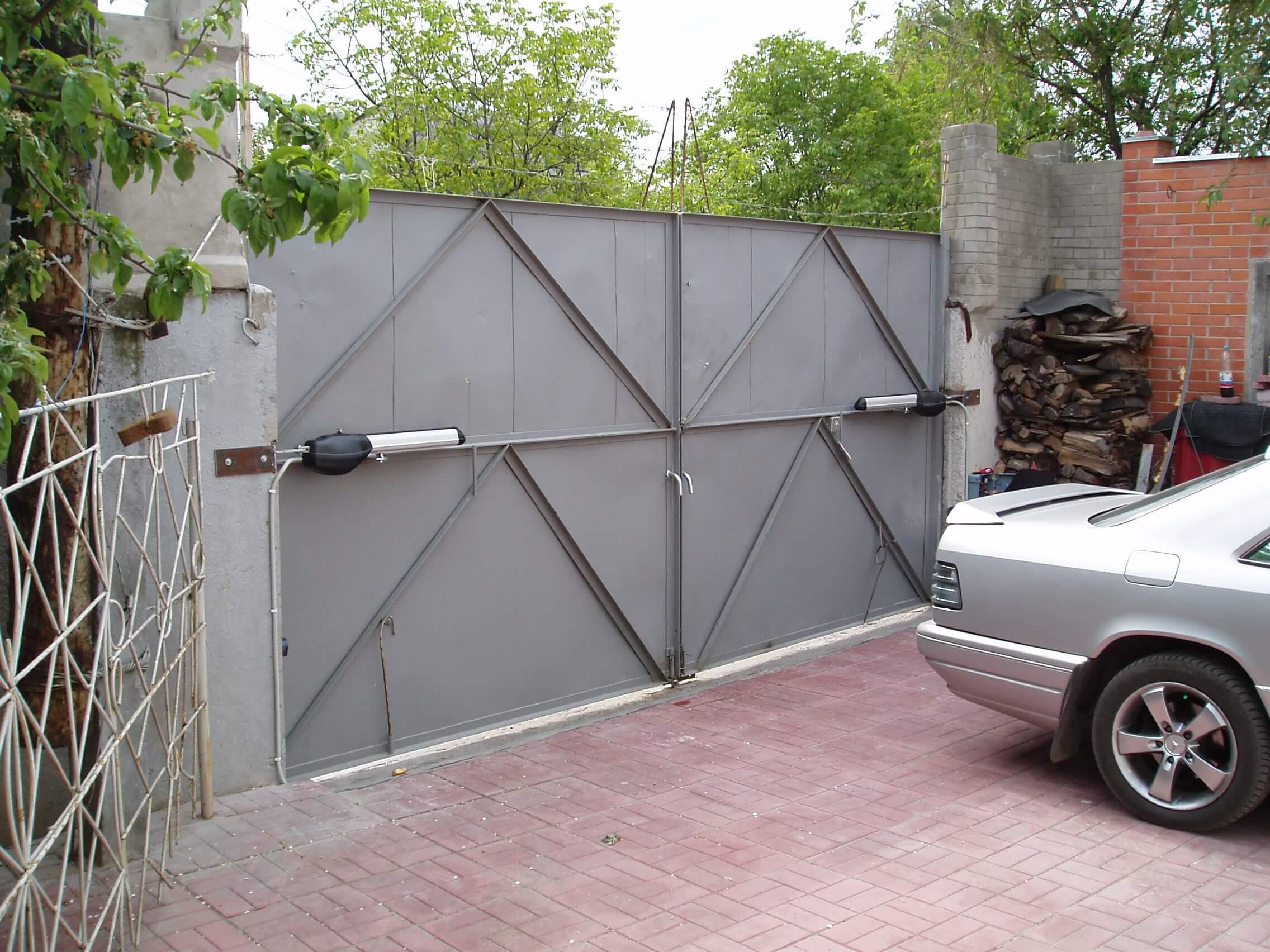 Автоматика для распашных ворот 1