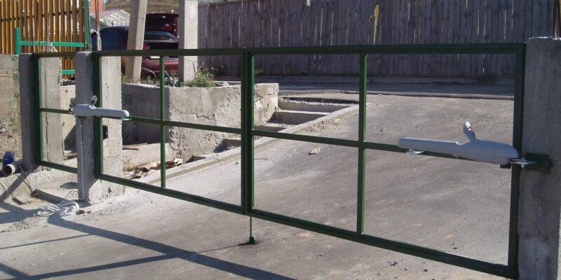 Автоматика для распашных ворот 4