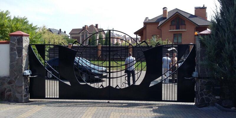 Автоматика для распашных ворот 7