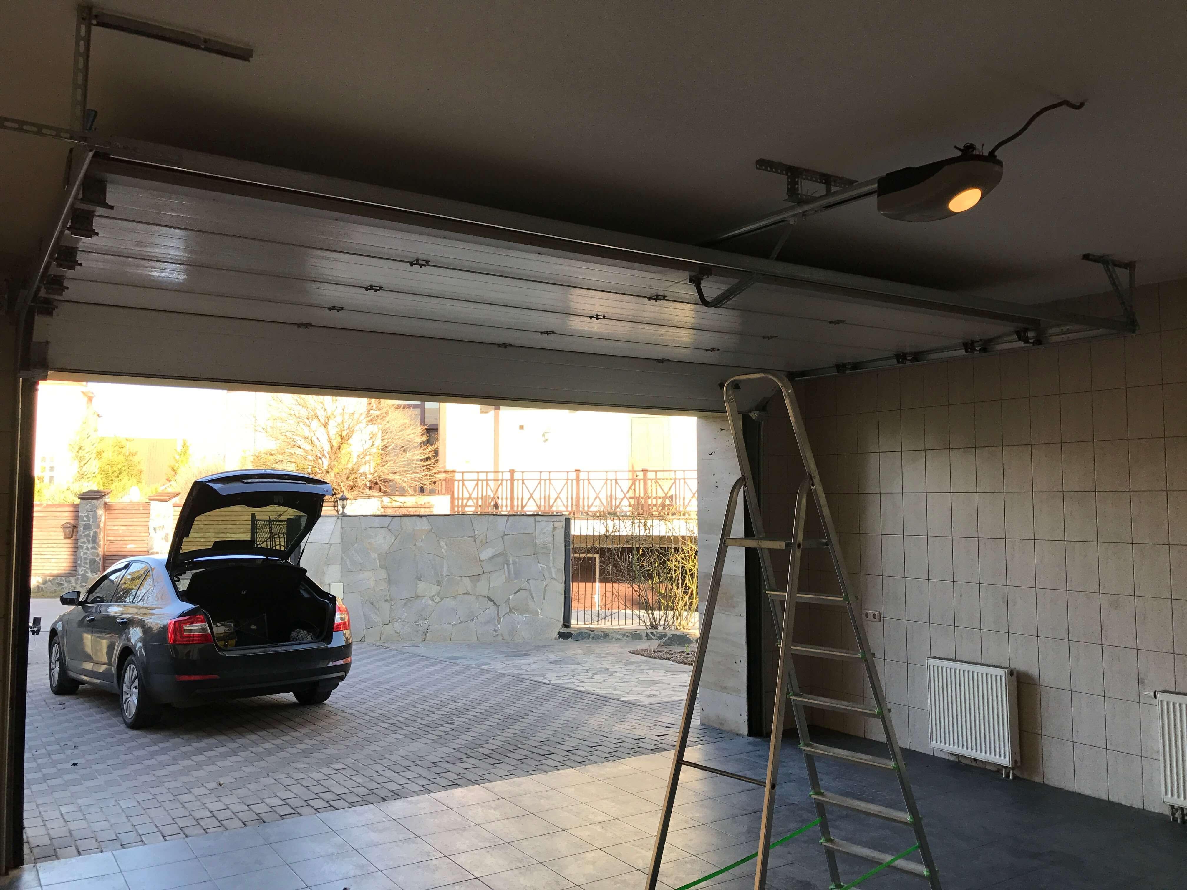 Автоматика для гаражных ворот 8