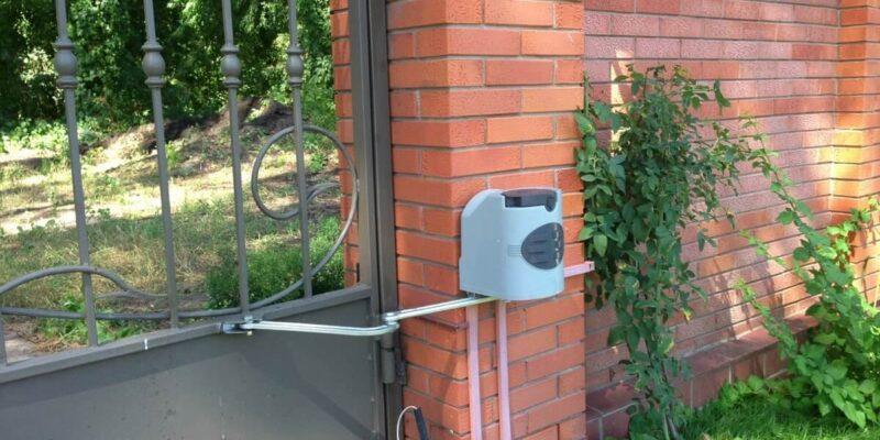 Автоматика для распашных ворот 11