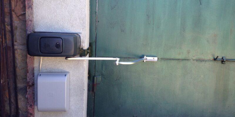 Автоматика для распашных ворот 16