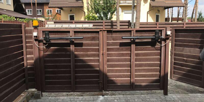 Автоматика для распашных ворот 17