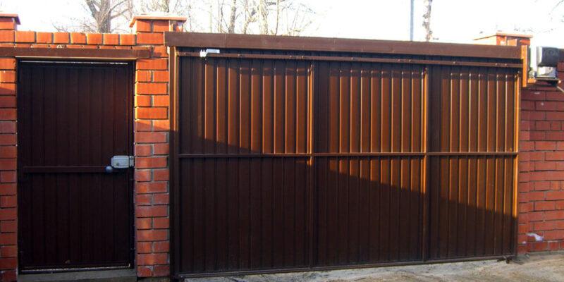 Что такое подвесные откатные ворота