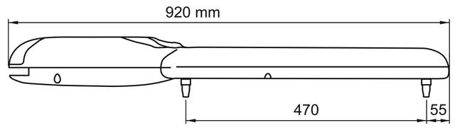 Габаритные размеры NICE WINGO 3524