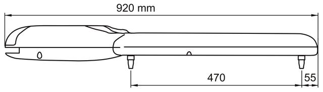 Габаритные размеры NICE WG3524HS
