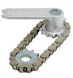 NICE MEA1 - аксессуары для открытия ворот на угол до 360 градусов