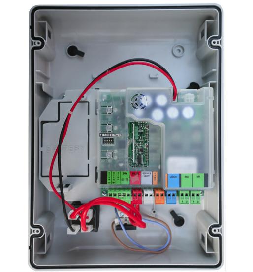 Плата управления FAAC E024 S, в корпусе с трансформатором