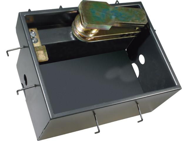 Правосторонний стальной корпус FROG-CD, обработанный катафорезом