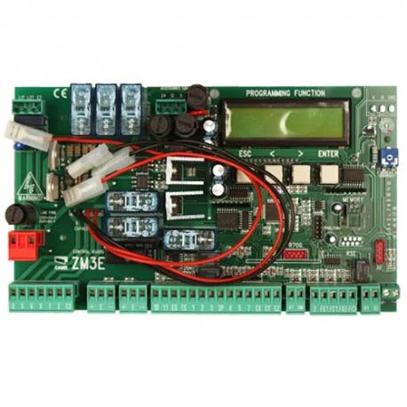 Многофункциональная панель управления с дисплеем CAME ZM3E, с функцией самодиагностики. CAME connect - Ready