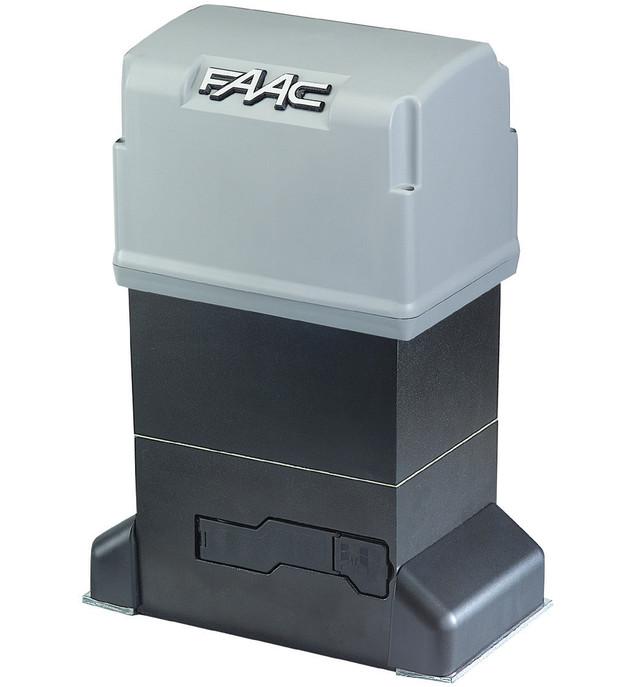 Привод Faac 844 ER Z16 в масляной ванне с встроенным блоком управления 780 D, интенсивность - 70%-78%