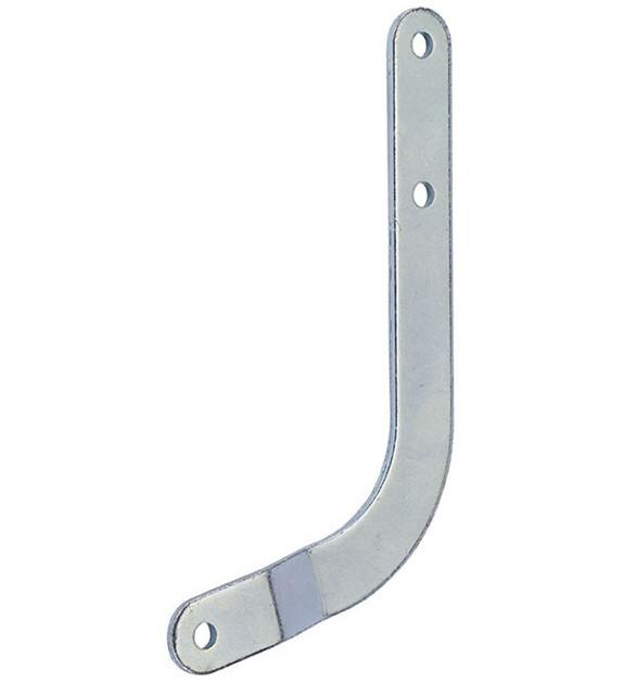 Изогнутый кронштейн для секционных ворот Faac