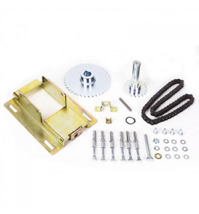 Комплект аксессуаров Faac для цепной передачи с смещенной тяговою осью и передаточным отношением 1:1,5