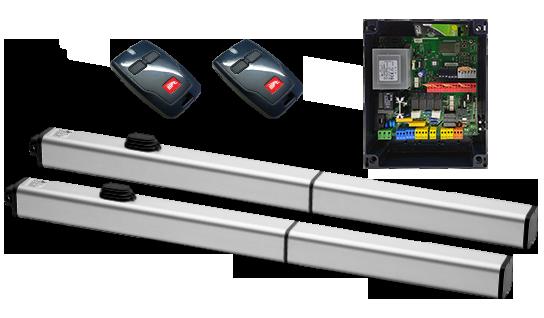 Электроприводыдля распашных ворот PHOBOS AC A50 kit